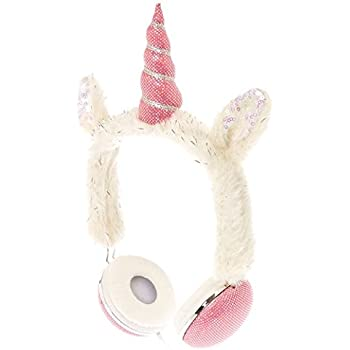 Amazon.com: Claires Furry Unicorn Headphones: Home Audio