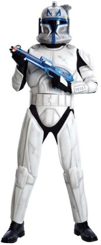Rex Star Wars Costume (Deluxe Capatin Rex Adult Costume - X-Large)