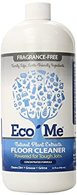 Eco-Me Natural Multi-Surface Floor Cleaner, Fragrance-Free, 32 oz
