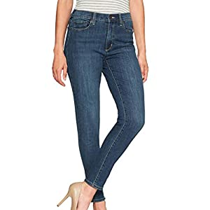 Banana Republic Women's Skinny Fit High-Rise Skinny Jeans Medium Wash