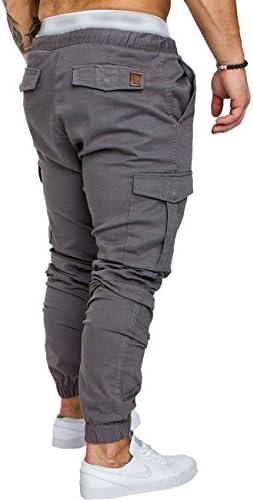 10 Colors 2018 Men New Casual Cargo Pants Plus Size Sport