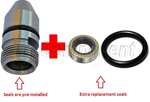 TH350-TH350C-Housing-Bullet-Speedometer-Speedo-Sleeve-Adapter + Extra Seals TH-350-250-350C ()