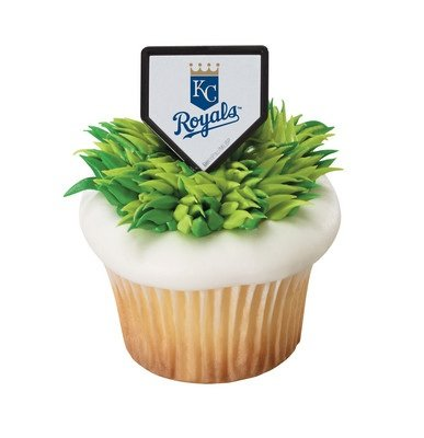 MLB Kansas City Royals Cupcake Rings - 24 pcs