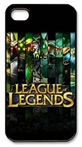 LZHCASE Personalized Protective Case for iphone 4 - Game League of Legends