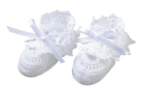 (White Crocheted Booties)