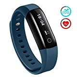 Fitness Tracker, Mpow Heart Rate Monitor Waterproof for Swimming Activity Tracker Pedometer Smart...