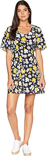 Juicy Couture Women's Silk Garden Floral Flirty Dress Regal Garden Floral 4 -