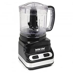Better Chef 853W 3-Cup Food Chopper, White/Stainless