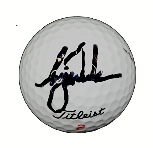 Tiger Woods Signed Autographed Wilson Golf Ball (Tiger Masters Autographed Woods)