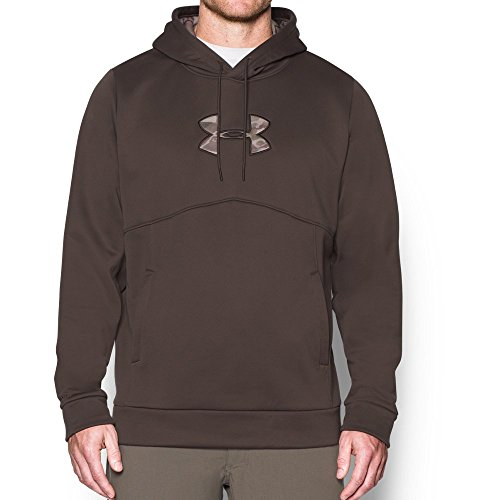 Under Armour Men's Storm Icon Caliber Hoodie, Maverick Brown (240),