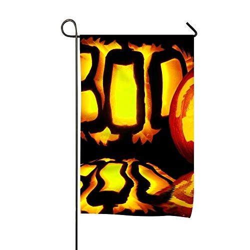 FunnyLife Scary Halloween Pumpkins Garden Flag Premium Double-Sided Home Yard Flags for $<!--$9.74-->