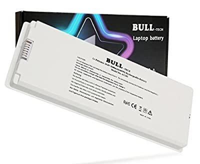 "A1185 A1181 MA561 MA561FE/A MA561G/A MA561J/A New Laptop Battery for Apple 13"" Macbook (Mid. / Late 2006, Mid. / Late 2007, Early / Late 2008, Early / Mid. 2009) from Bull-tech"