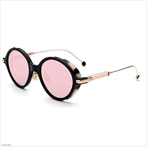 Lunettes Femmes Miroir pour Lunettes Sunglasses de soleil conduite Bright lunettes femmes Vintage de couleur Lunettes De Colors soleil de disponible Classique pour Plating Lady's la Rose Soleil soleil Lens FrtzYrOwq