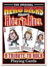 HeroDecks - Heros of Rock 'n Roll - Playing (Hero Decks Playing Cards)
