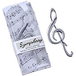 "96pcs""Symphony"" Music Note Bottle Opener For Wedding Party Favor"