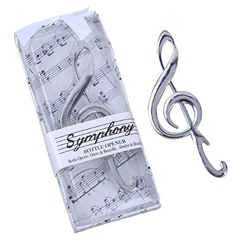 "24pcs""Symphony"" Music Note Bottle Opener For Wedding Party Favor Review"