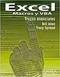Excel - macros y vba (Anaya Multimedia): Amazon.es: Jelen