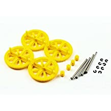 Hobbypower Motor Gears & Shafts for Parrot Ar Drone 2.0 & 1.0 Quadcopter Black
