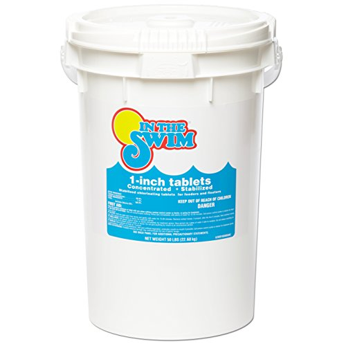In The Swim 1 Inch Pool Chlorine Tablets 50 lbs. by In The Swim