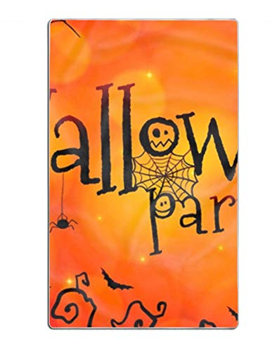 Halloween Paty Show Printed Shower Bath Towels Highly Absorbent for Beach, Pool and House 31×51