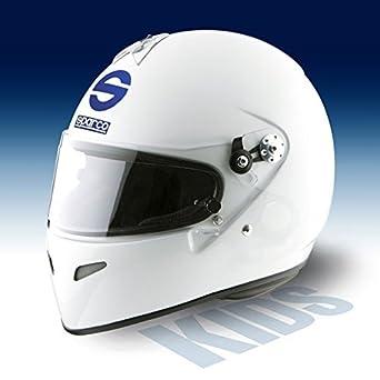 Ford – Casco sparco adv primo blanco Karting niño