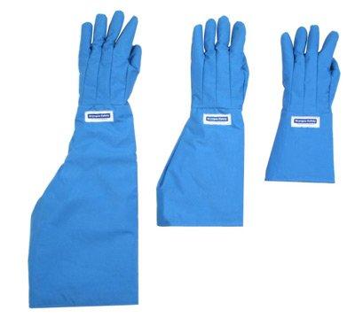 National Safety Apparel G99CRBESHXLP Size 11 Olefin And Polyester Lined Nylon Taslan And PTFE Shoulder Length Waterproof Cryogen Gloves (1/PR)