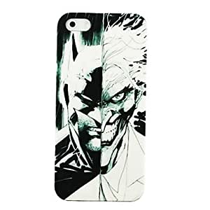 GJY Double Faced Pattern Hard Case for iPhone 4/4S