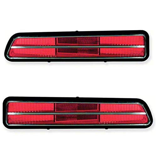 OER 5960963-64 1969 Chevy Camaro RS Tail Lamp Lens Set