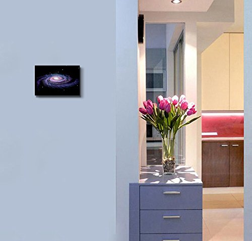 Spiral Galaxy Milky Way Concept of Universe Wall Decor ation