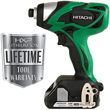 hitachi impact. hitachi wh18dsal 18-volt lithium-ion impact driver (discontinued by manufacturer)