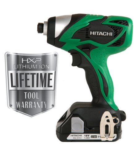 Hitachi WH18DSAL 18-Volt Lithium-Ion Impact Driver  (Discontinued by Manufacturer)