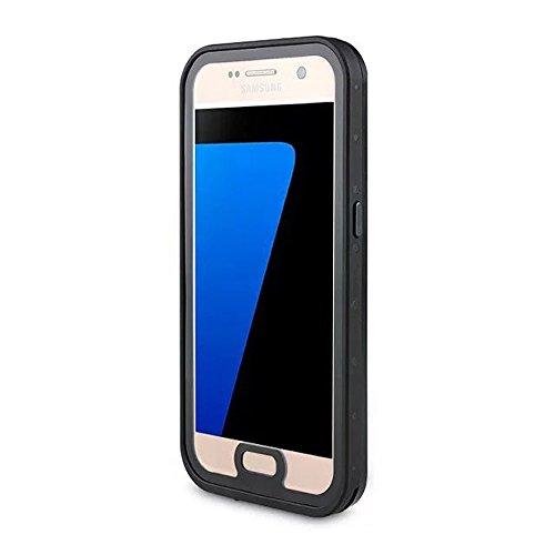 Galaxy S7 Waterproof Case, Mangix Underwater Dust-Proof, Snow-Proof, Shock-Proof, Waterproof Case for Samsung Galaxy S7-Black