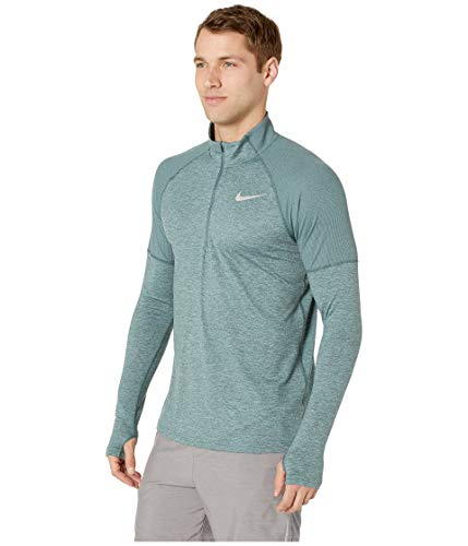 Nike Men's Element 1/2 Zip Running Top Hasta/Aviator Grey/Reflective Silver Size Small by Nike (Image #2)