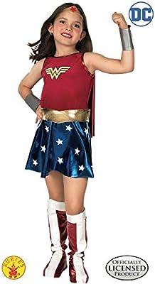 WONDER - Disfraz de mujer maravilla para niña, talla L (8-10 años ...