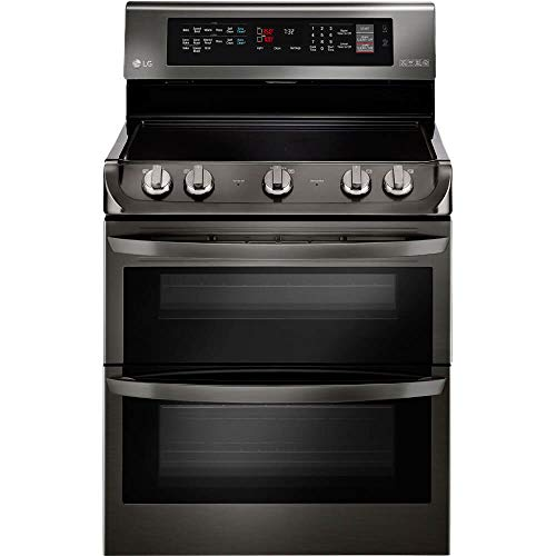 LG LDE4415BD Electric 7.3 Cu. Ft. Double Oven Black Stainless Range