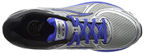Brooks Mens Adrenaline GTS 16 Silver/Electric Brooks Blue/Black O7a1H