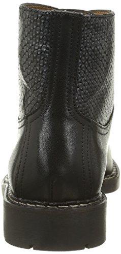 Veau Baja Mix Noir Clásicas Mujer de Victoire Snake Botas Caña Botas Pellet Negro qB4wvaa