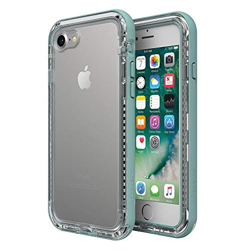LifeProof Next Case for iPhone 8 and iPhone 7 - BEACH PEBBLE (CLEAR / SLEET GRAY)