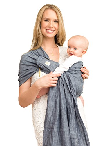 LILLEbaby Ring Sling w/ Removable Pocket - Heathered Dusk