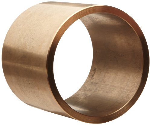 Bunting Bearings CB273624 Sleeve Plain Bearings, Cast Bronze C93200 (SAE 660), 1-11/16