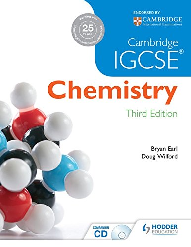 Cambridge IGCSE Chemistry 3rd Edition Plus CD
