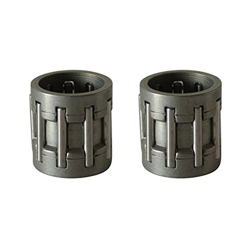 Sthus 2 Needle Cage Piston Bearings For Husqvarna 340 345 346xp 350 353 Chainsaws ()