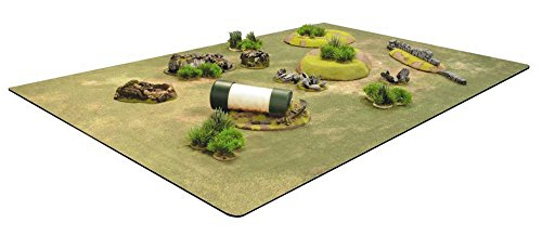 BattleMat Grass Field 6ft x 4ft by GAMES AND GEARS by GAMES AND GEARS