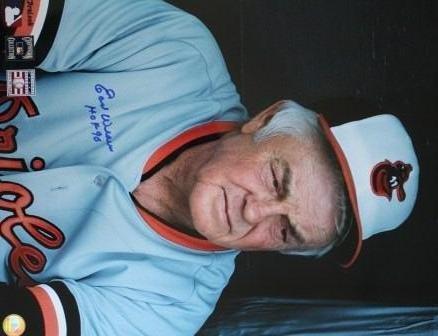 Earl Weaver Photo - Signed 16 X 20 Earl Weaver- Baltimore Orioles 8x10 Photo - Autographed Baseball Photos