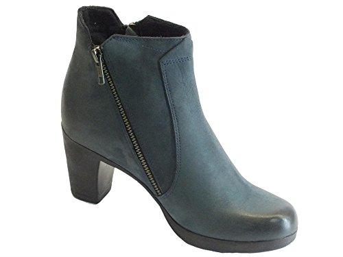Women's Nabuk Blu Boots Ibe3214 Cinzia Blue Soft 5qFwO