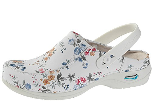 Paris fiori clogs WG4PF9 mules Nursing amp; Care donna qZPnwRx