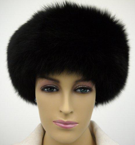 Fox Fur Headband Black by Hima (Image #2)