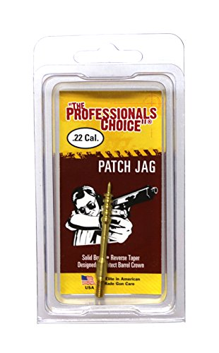 The Professional's Choice Rifle Brass Patch Jag.22 Caliber