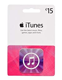 Apple iTunes Prepaid Card ($15)