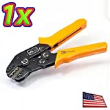 UPGRADE INDUSTRIES SN-28B Pin Crimping Tool 2.54-3.96mm 18-26 AWG Crimper 3 Sizes Dupont JST 01BM+ by UPGRADE INDUSTRIES